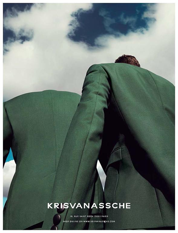 Kris Van Assche SS 2014 Campaign | Alessio Bolzoni | Kris Van Assche | Interview Russia | Daria Anichkina | Numerique Retouch Photo Retouching Studio