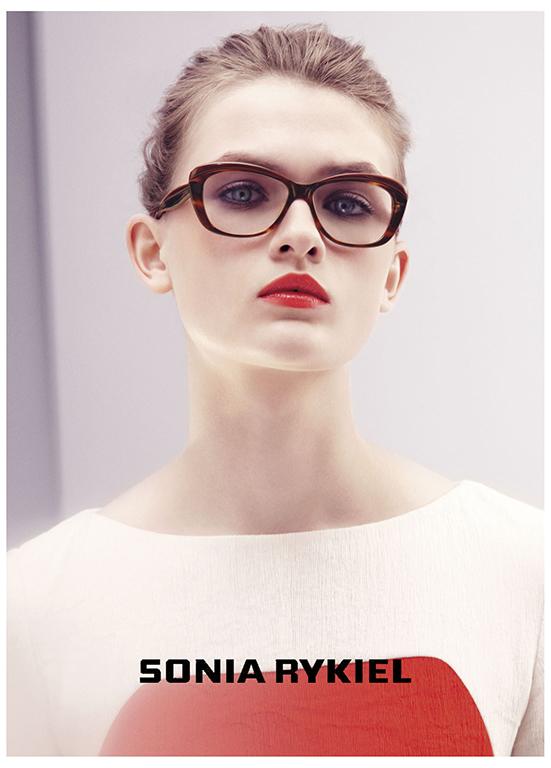 Sonia Rykiel Eyewear SS 2013 | Carlotta Manaigo | Sonia Rykiel | Numerique Retouch Photo Retouching Studio