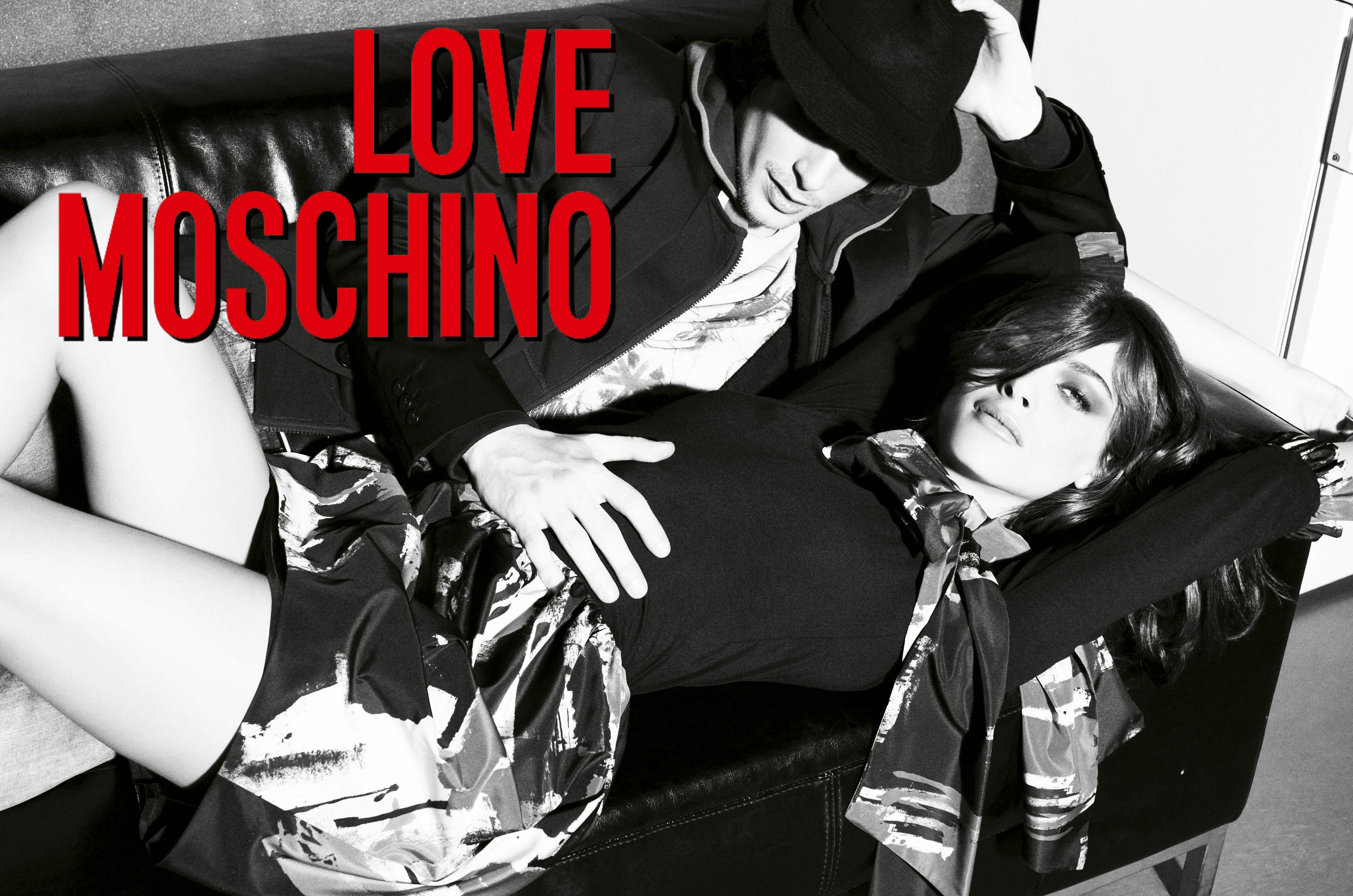 Love Moschino FW 2009 | Tom Munro | Moschino | Rolling Stone Italia | Simona Melegari | Numerique Retouch Photo Retouching Studio