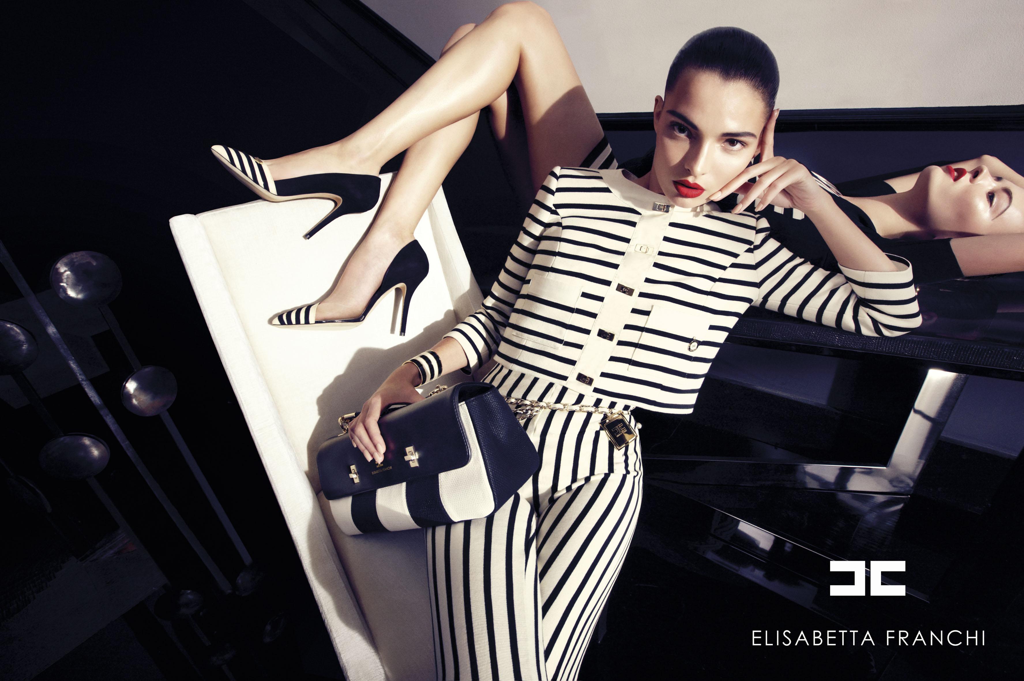Elisabetta Franchi SS 2013 | Andoni & Arantxa | Elisabetta Franchi | Numerique Retouch Photo Retouching Studio