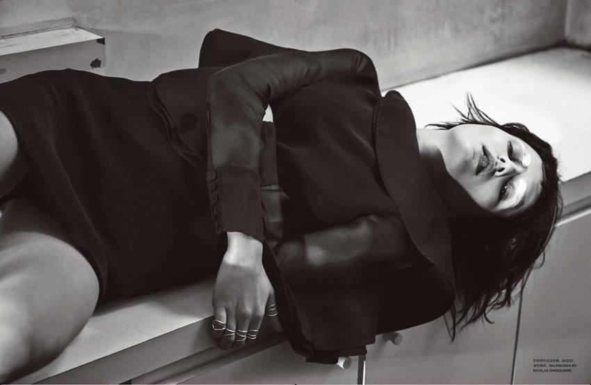 Numéro China May 2014 | Carlotta Manaigo | Numéro China | Tim Lim | Numerique Retouch Photo Retouching Studio