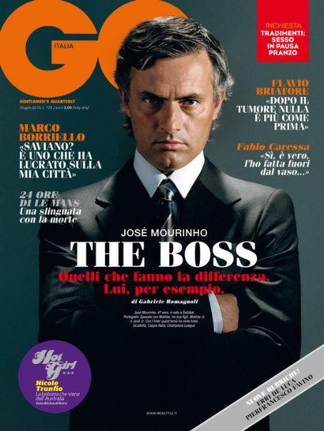 "GQ Italia June 2010 ""José Mourinho"" | Adriano Russo | GQ Italia | Elisa Anastasino | Numerique Retouch Photo Retouching Studio"