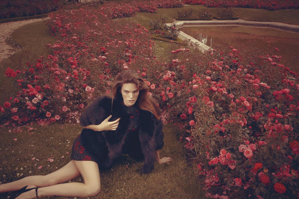 "GIOIA! October 2012 ""Giardino segreto"" | Alice Rosati | Gioia | Amelianna Loiacono | Numerique Retouch Photo Retouching Studio"