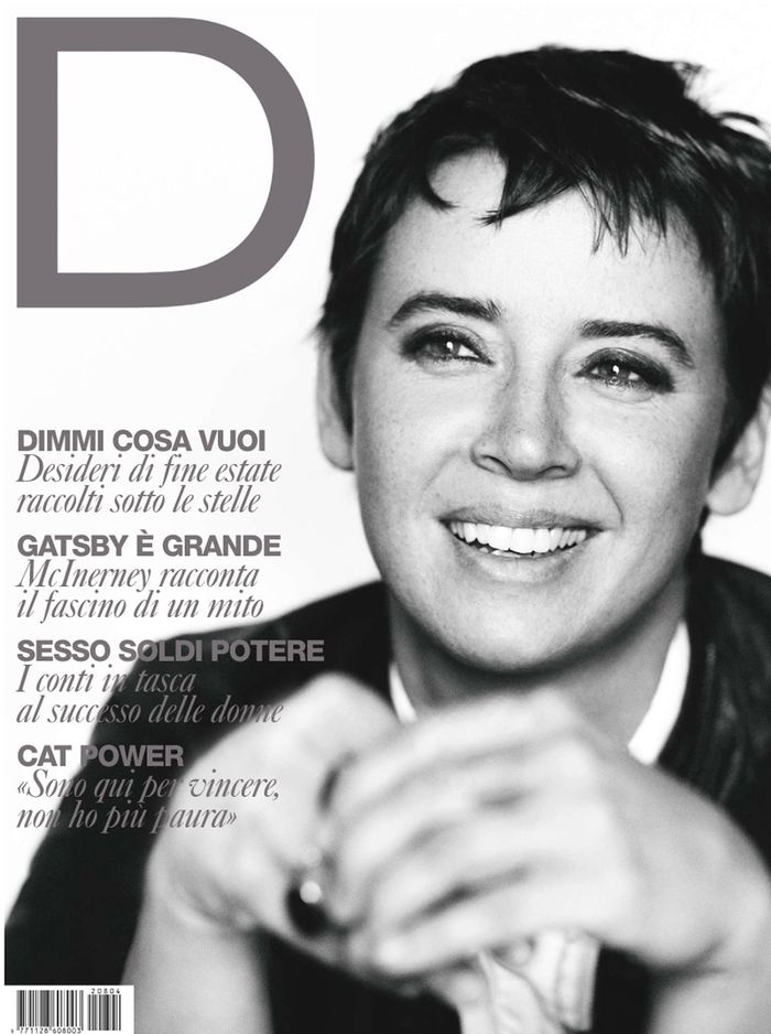 "D la Repubblica August 2012 ""Cat Power"" 