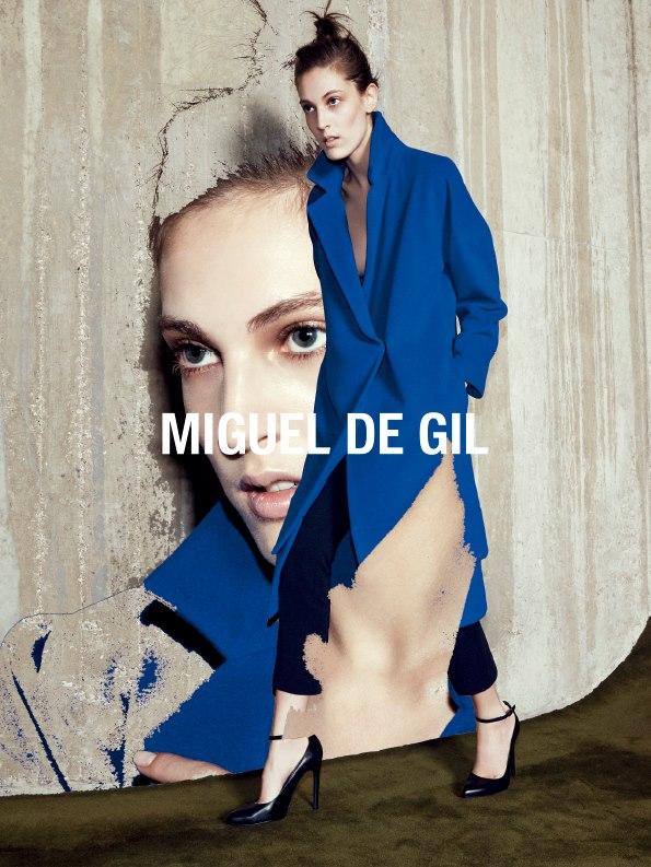 Miguel de Gil AW 2014 Campaign | Alessio Bolzoni | Miguel De Gil | Vanessa Metz | Numerique Retouch Photo Retouching Studio