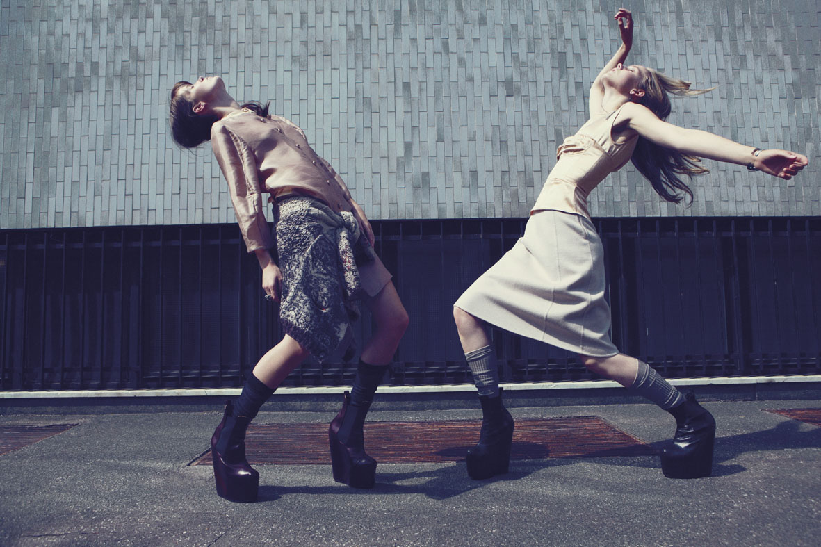 "Grey #5 FW 2011/2012 ""Sabbath"" | Alessio Bolzoni | Grey Magazine | Moreno Galatà | Numerique Retouch Photo Retouching Studio"