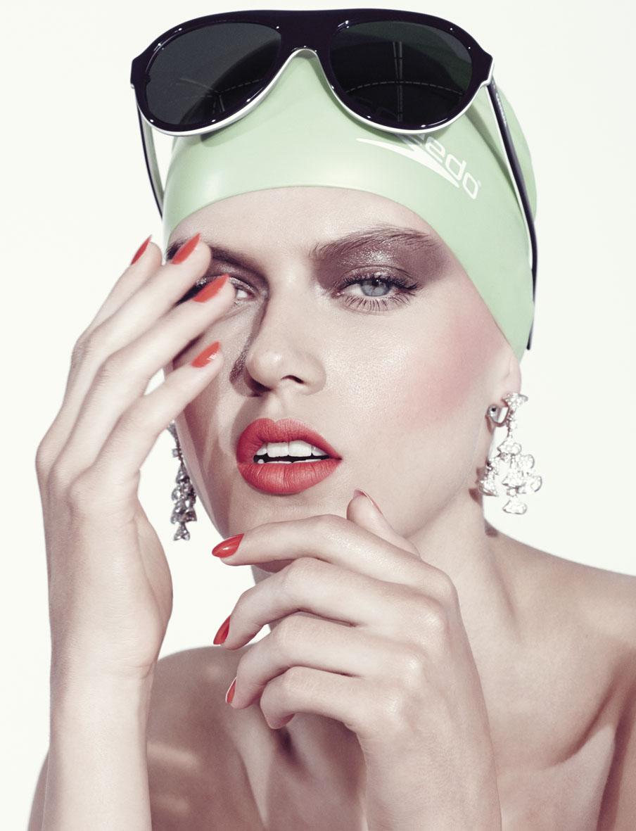 Stylist Magazine June 2014 | Alessio Bolzoni | Stylist Magazine | Belen Casadevall | Numerique Retouch Photo Retouching Studio