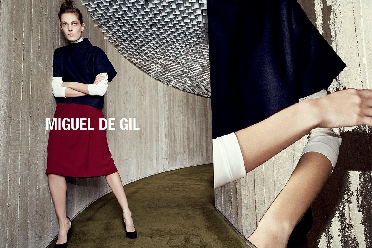 Miguel de Gil AW 2014 Campaign | Alessio Bolzoni | Miguel De Gil | Numéro | Vanessa Metz | Numerique Retouch Photo Retouching Studio