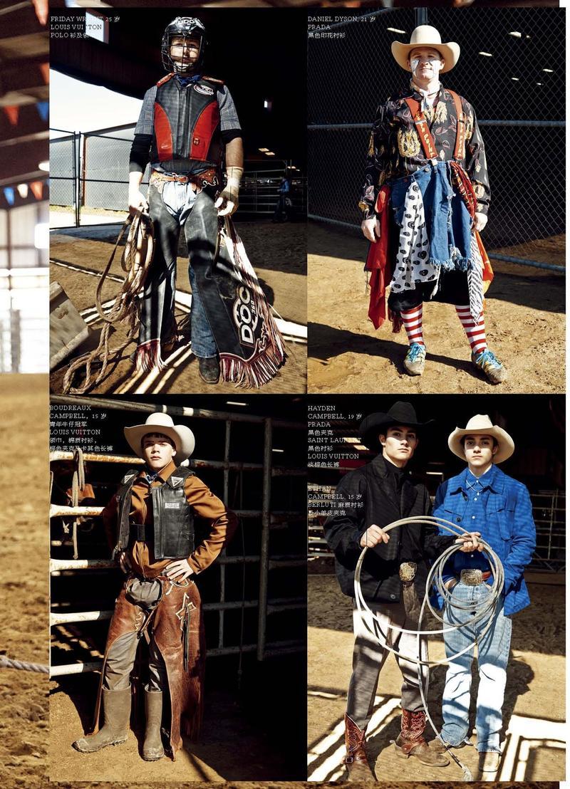 "Modern Weekly SS 2014 ""Rodeo"" | Carlotta Manaigo | Modern Weekly China | Niklas Bildstein Zaar | Numerique Retouch Photo Retouching Studio"