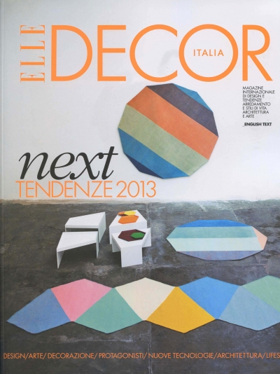 Elle Decor jan/feb 2013 | Andrea Ferrari | Marazzi | Elle Decor | Numerique Retouch Photo Retouching Studio