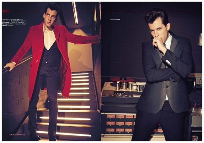 "GQ Italia September 2012 ""Mark Ronson The Producer"" | Adriano Russo | GQ Italia | Elisa Anastasino | Numerique Retouch Photo Retouching Studio"