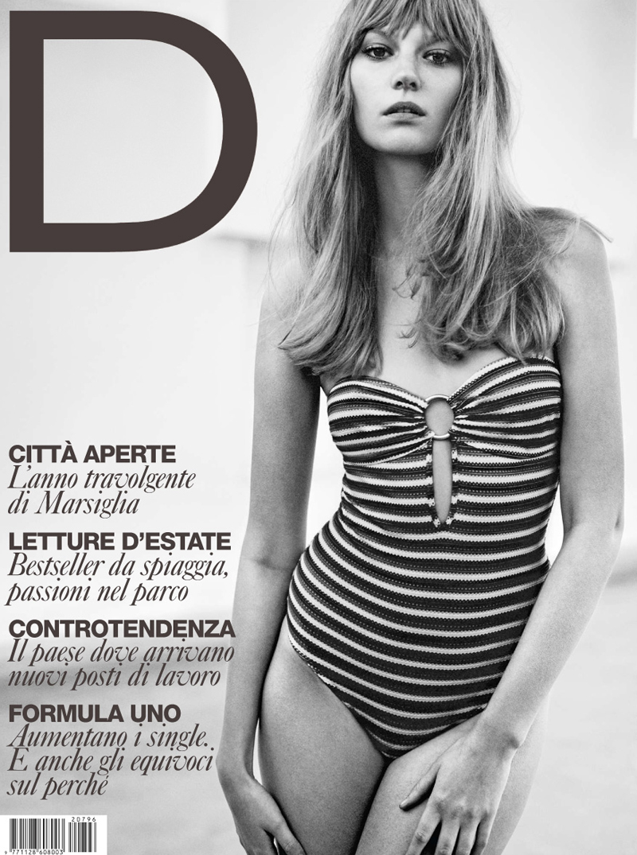 D la Repubblica June 2012 Cover | Matteo Montanari | D la Repubblica | Roberta Rusconi | Numerique Retouch Photo Retouching Studio