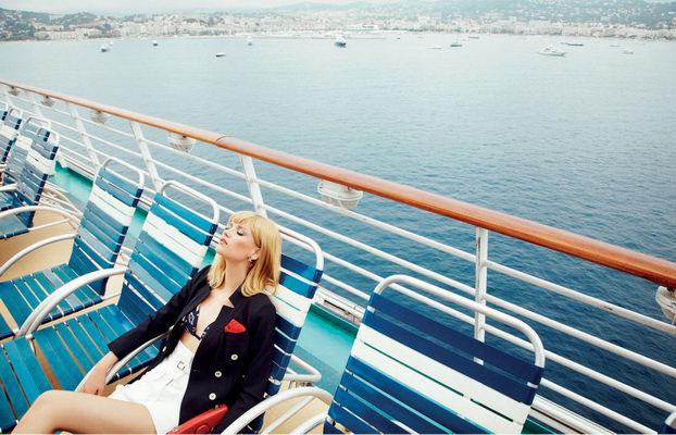 "GIOIA! January 2012 ""Royal Cruise"" | Alice Rosati | Gioia | Amelianna Loiacono | Numerique Retouch Photo Retouching Studio"
