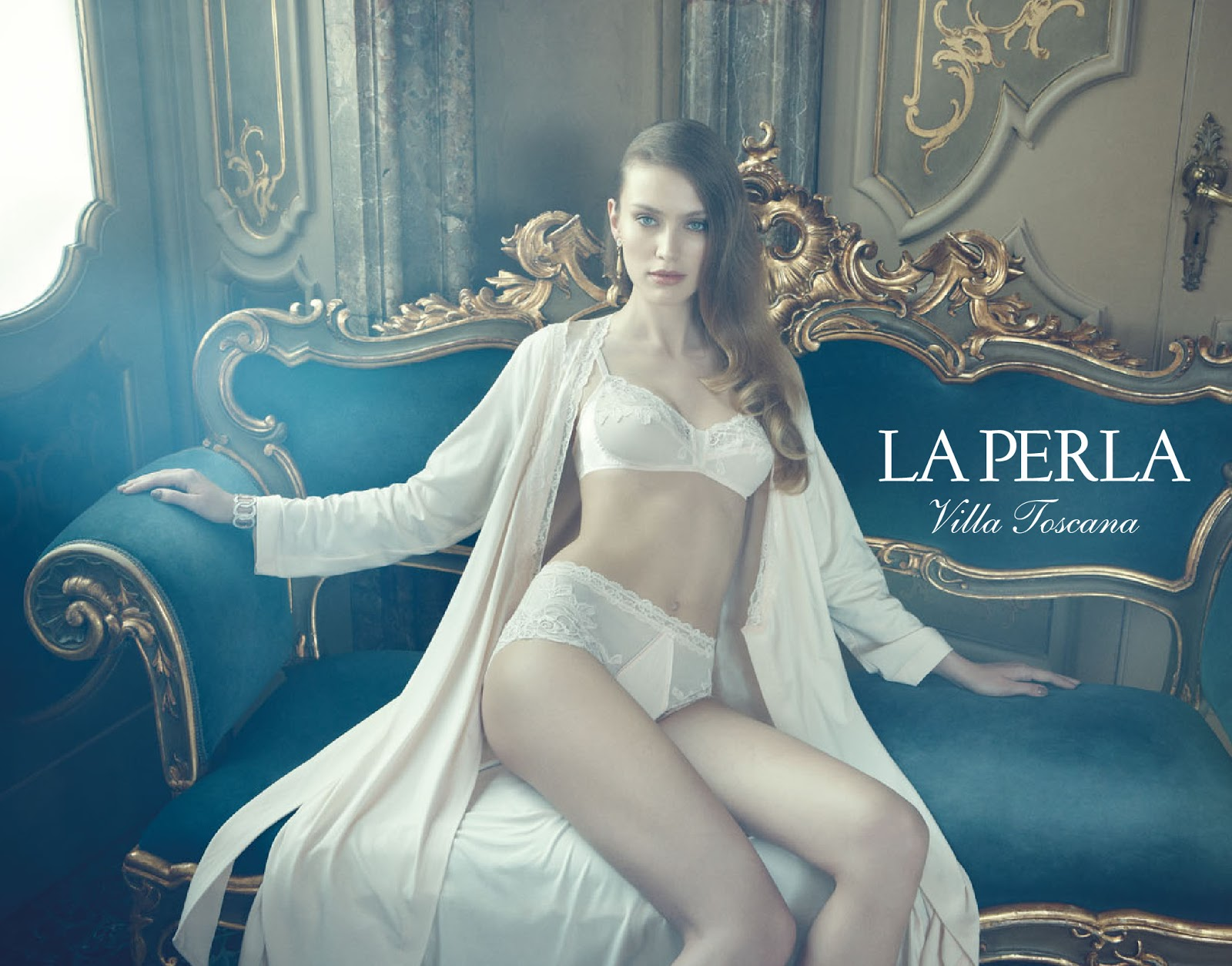 La Perla Villa Tocana Collection FW 2012/2013 | Adriano Russo | La Perla | Numerique Retouch Photo Retouching Studio