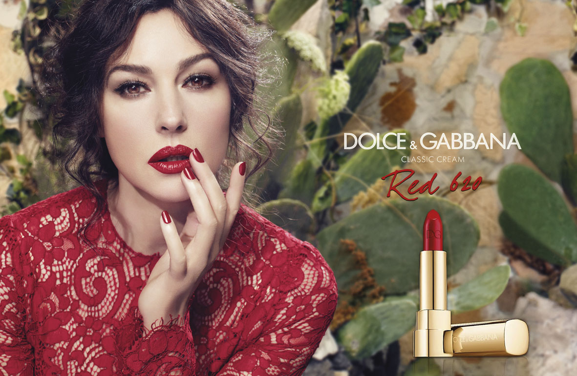Dolce&Gabbana Classic Cream Lipstick Campaign | Domenico Dolce | Dolce&Gabbana | Numerique Retouch Photo Retouching Studio