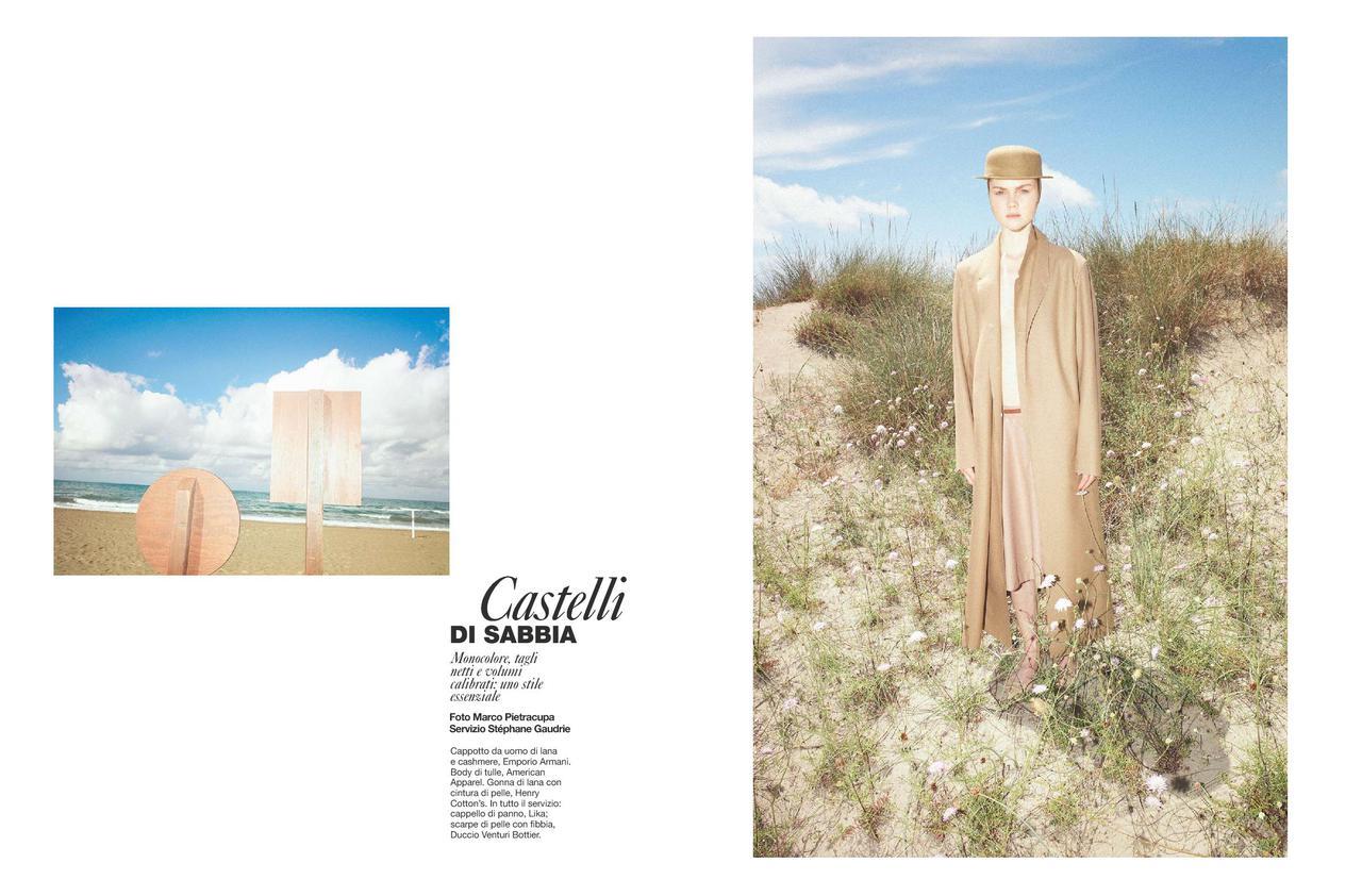 """D La Repubblica August 2011 """"Castelli di sabbia""""   Marco Pietracupa   D la Repubblica   Stéphane Gaudrie   Numerique Retouch Photo Retouching Studio"""