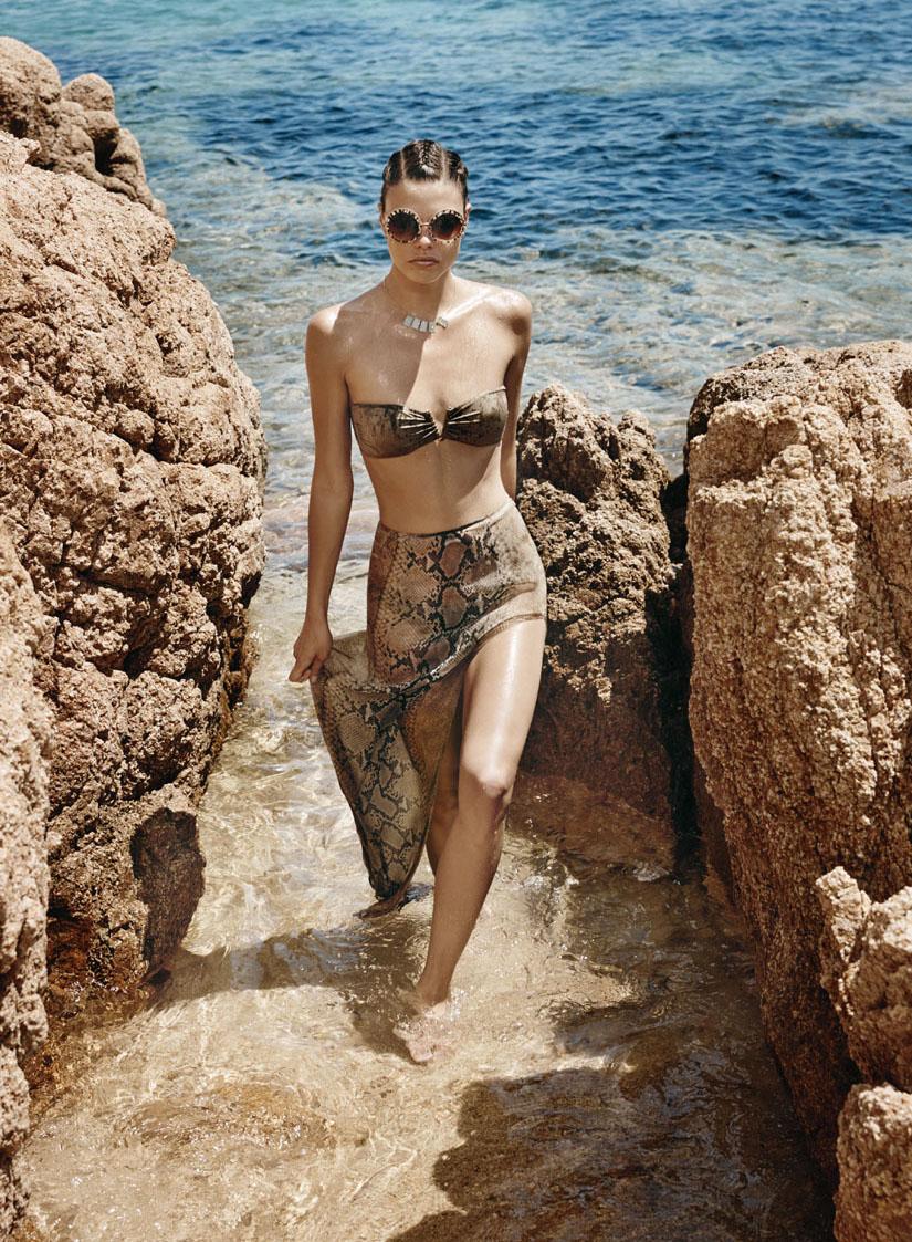 "F Magazine July 2014 ""Wild Summer"" | Nadia Moro | F Magazine | Marzia Fossati | Numerique Retouch Photo Retouching Studio"