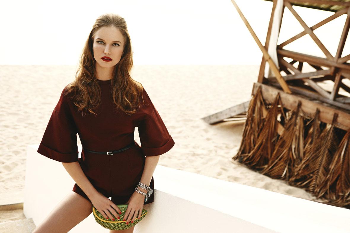 "F Magazine June 2014 ""Tropical Retrò"" | Dennison Bertram | F Magazine | Monica Rodegher | Numerique Retouch Photo Retouching Studio"