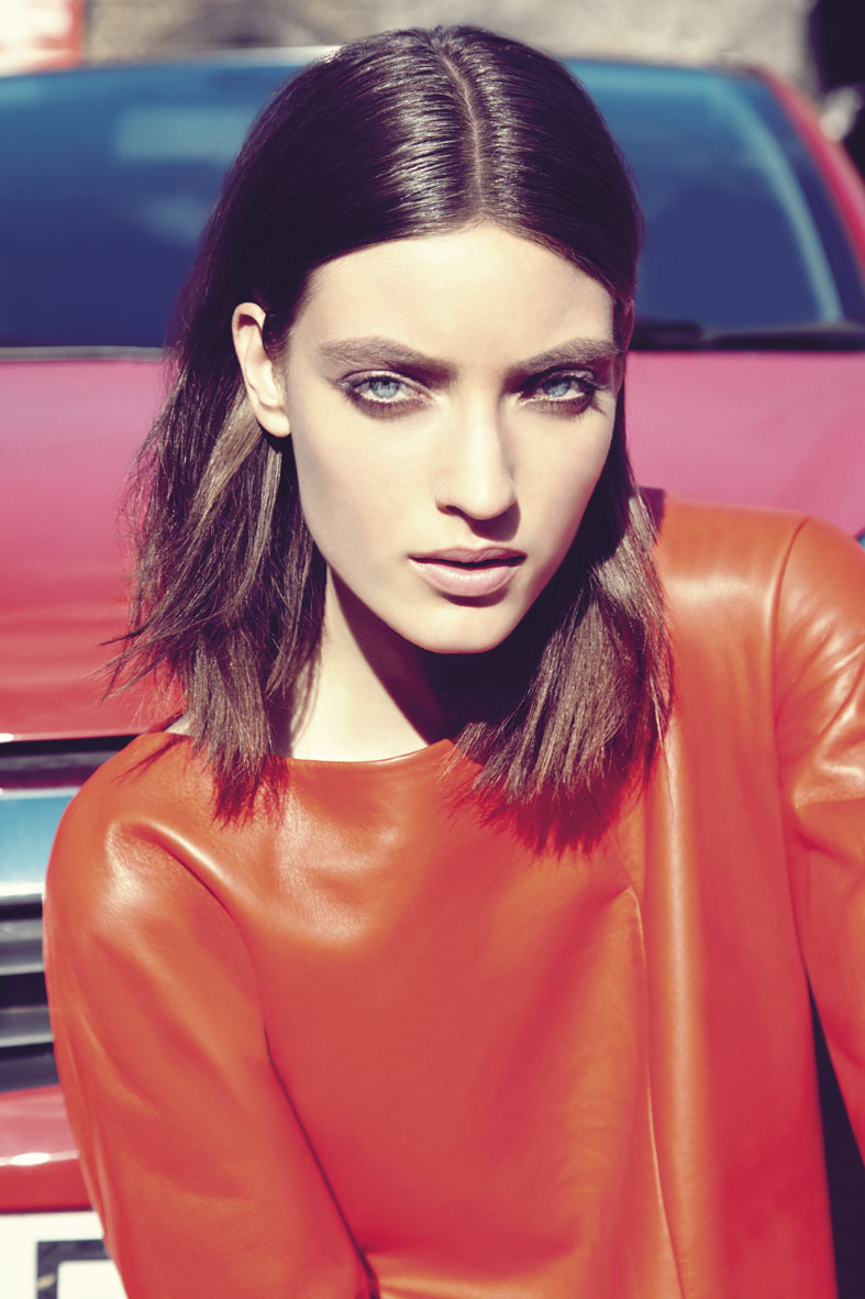 "Mixte October 2013 ""West End Girl"" | Carlotta Manaigo | Gucci | Mixte | Celestine Cooney | Numerique Retouch Photo Retouching Studio"