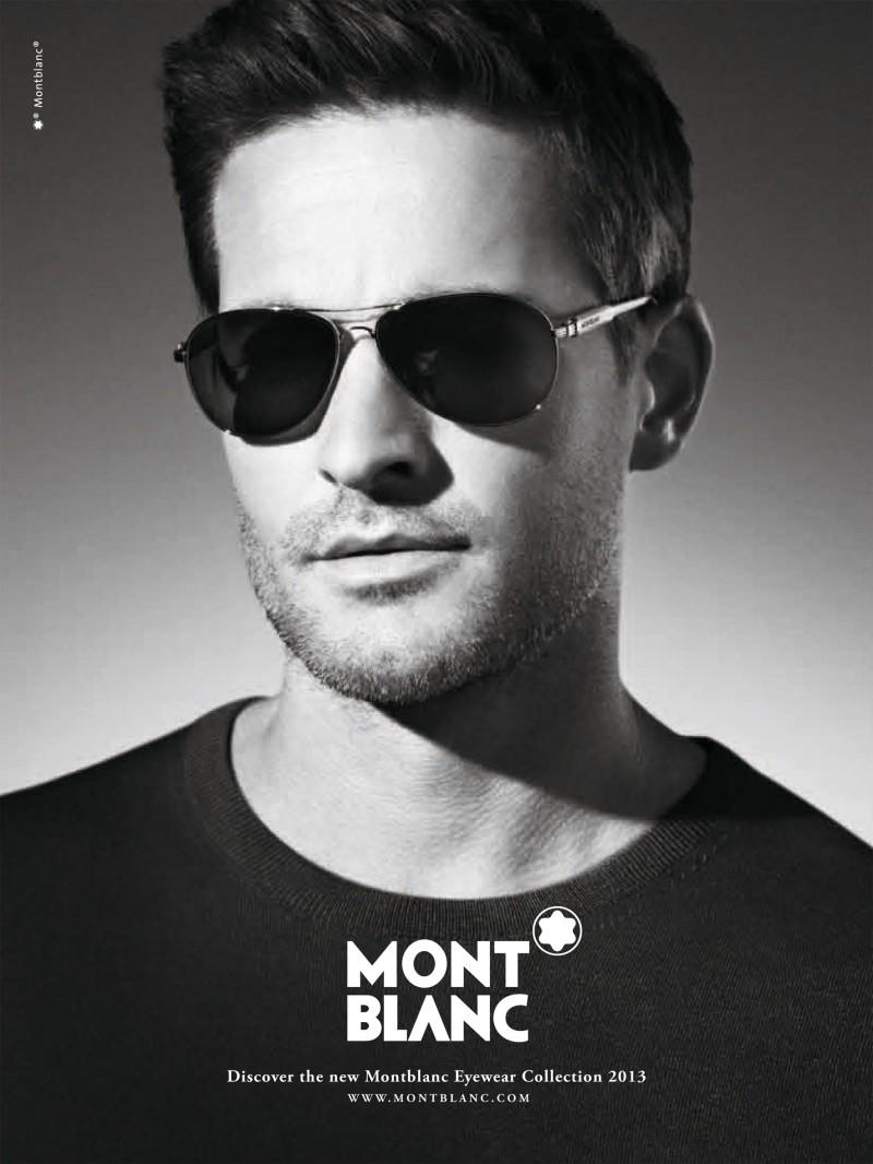Montblanc SS 2013 Eyewear Campaign | Carlotta Manaigo | Montblanc | Numerique Retouch Photo Retouching Studio