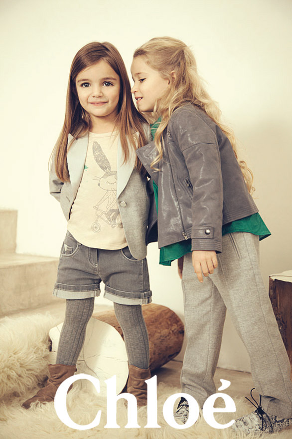 Chloé Kids FW 2012/2013 Campaign | Carlotta Manaigo | Chloé Kids | Numerique Retouch Photo Retouching Studio