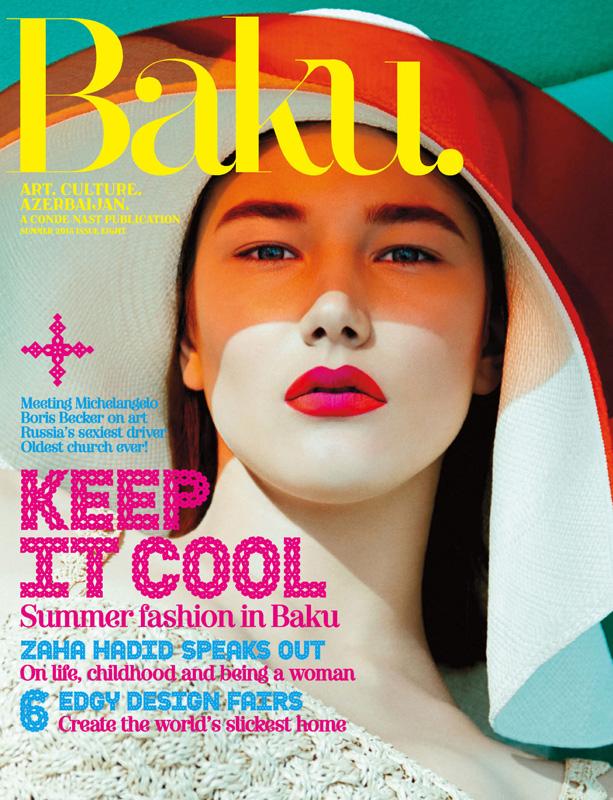 "Baku. Summer 2013 ""New Horizons"" | Carlotta Manaigo | Gucci | Baku Magazine | Melina Nicolaide | Numerique Retouch Photo Retouching Studio"