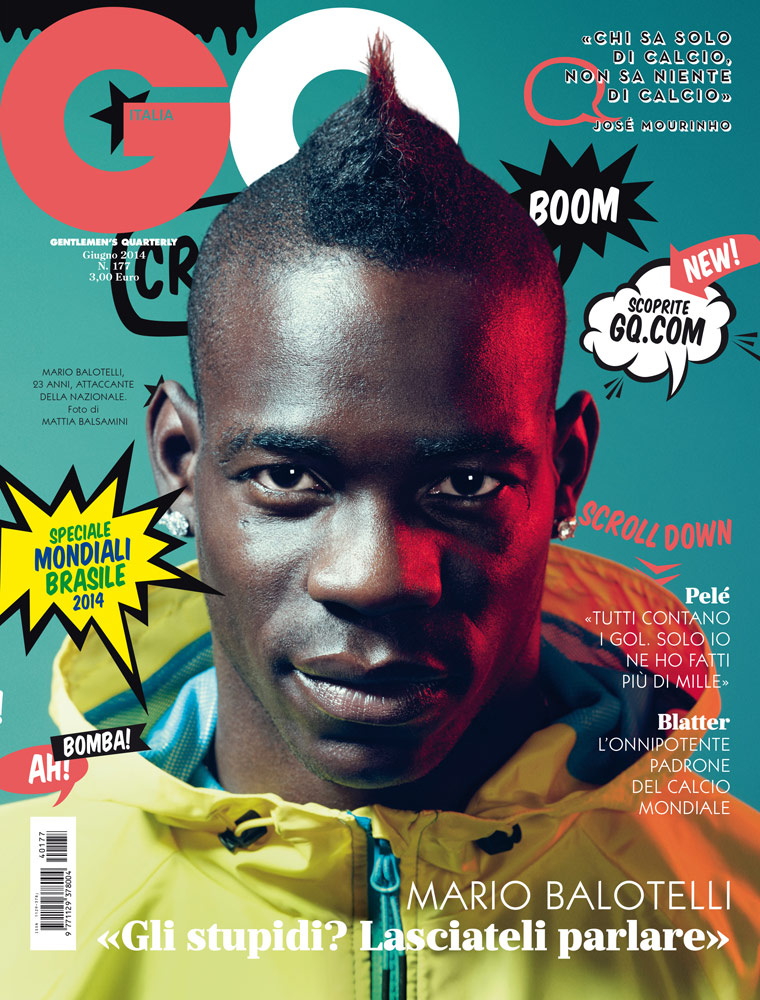 "GQ Italia June 2014 ""Mario Balotelli"" 