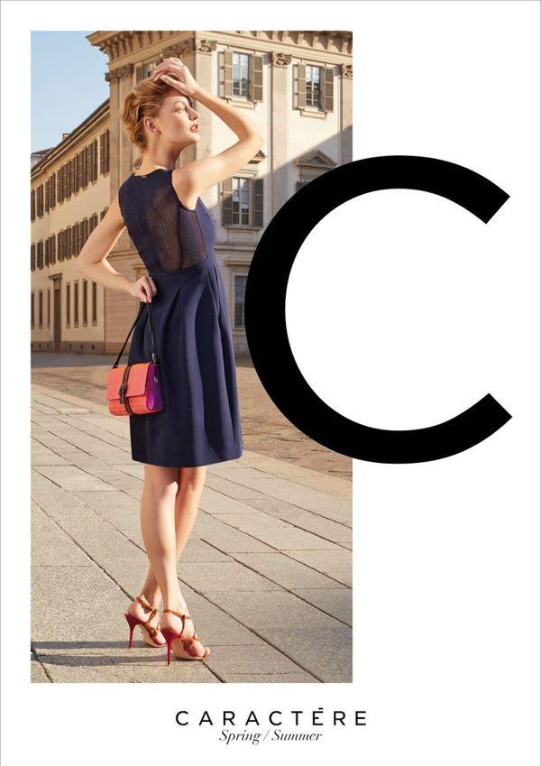 Caractère SS 2014 Campaign | Victor Demarchelier | Caractère | Numéro | Ilaria Chionna | Numerique Retouch Photo Retouching Studio