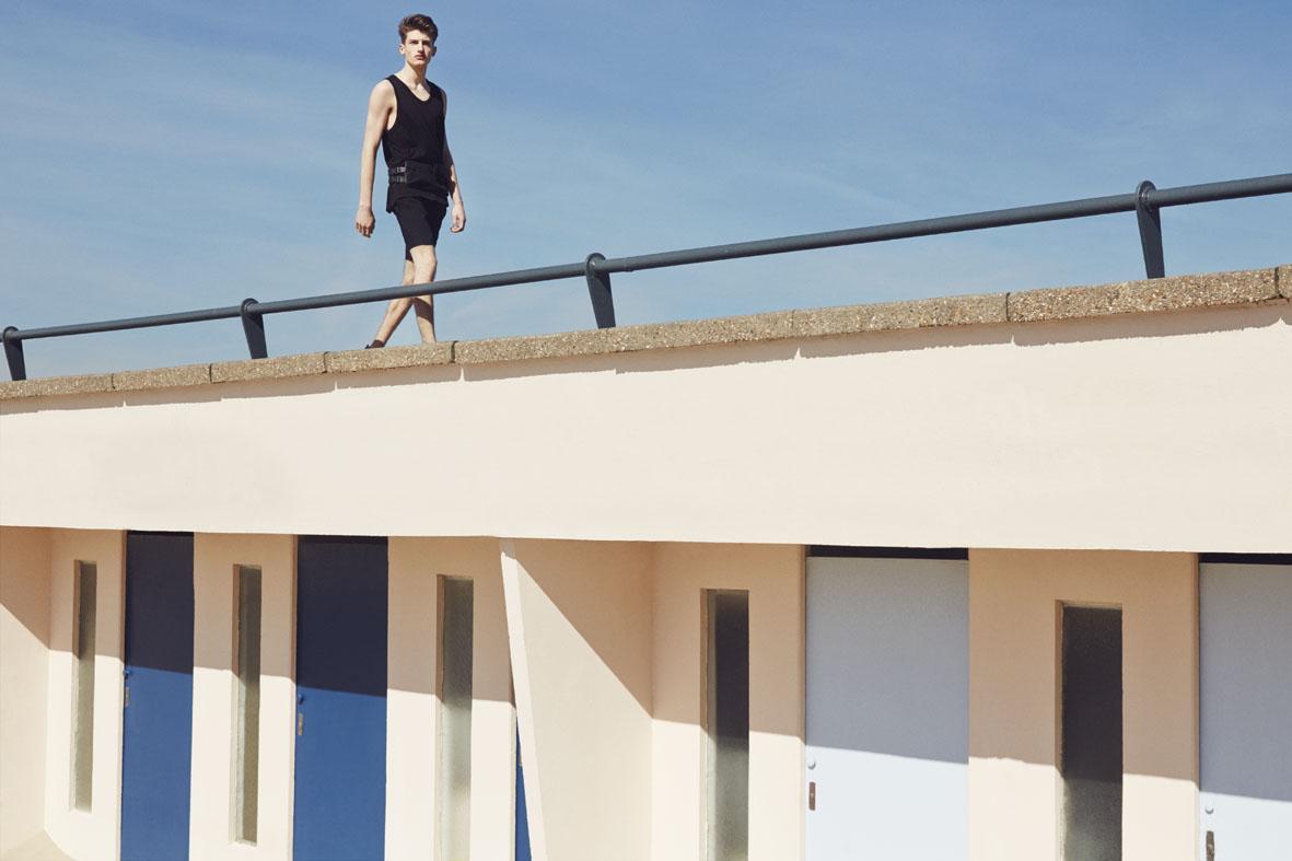 "M le Monde June 2014 ""Noir"" | Carlotta Manaigo | Sergio Rossi | M le Monde | Monica Rodegher | Numerique Retouch Photo Retouching Studio"