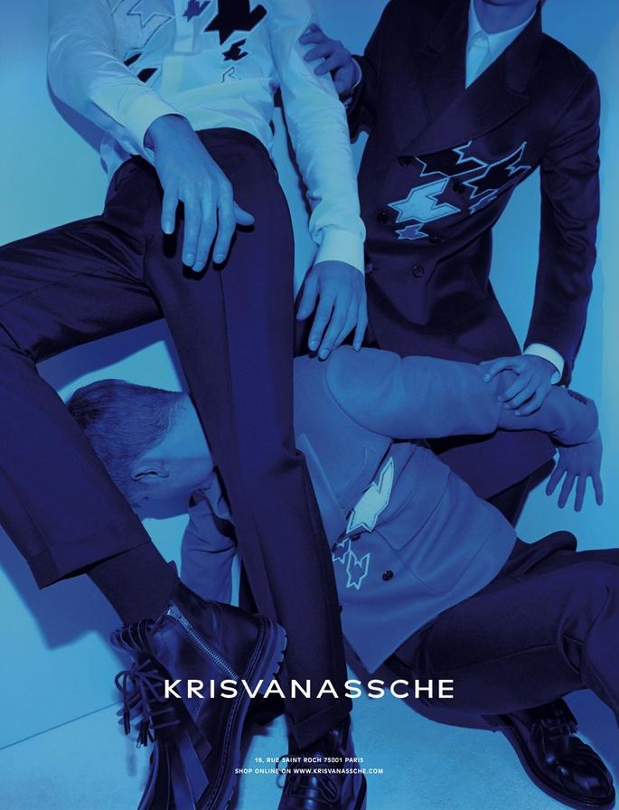 Kris Van Assche FW 2014/2015 Campaign | Alessio Bolzoni | Kris Van Assche | M le Monde | Mauricio Nardi | Numerique Retouch Photo Retouching Studio