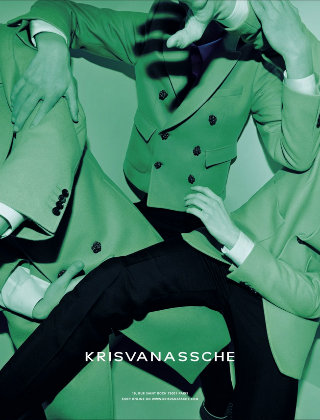 Kris Van Assche FW 2014/2015 Campaign | Alessio Bolzoni | Kris Van Assche | Mauricio Nardi | Numerique Retouch Photo Retouching Studio