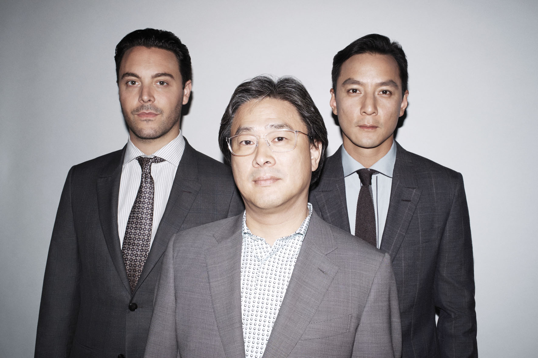 Park Chan-Wook, Jackson Huston and Daniel Wu for  Ermenegildo Zegna | Marco Pietracupa | Ermenegildo Zegna | F Magazine | Monica Rodegher | Numerique Retouch Photo Retouching Studio