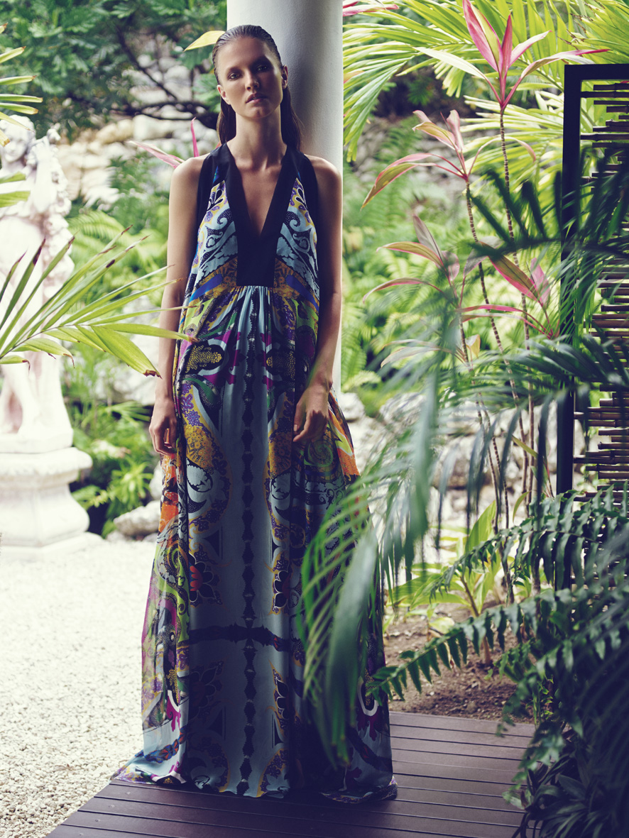 "F Magazine July 2014 ""Paradise Island""   Dennison Bertram   F Magazine   Monica Rodegher   Numerique Retouch Photo Retouching Studio"