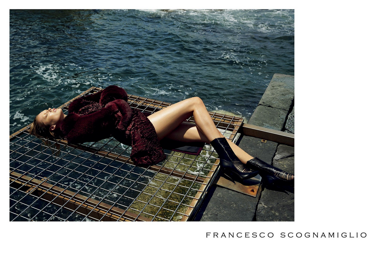 Francesco Scognamiglio AW 2014/2015 Campaign | Sean and Seng | Francesco Scognamiglio | IO donna | Marina Malavasi | Numerique Retouch Photo Retouching Studio