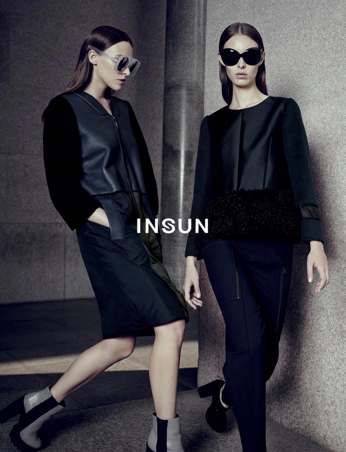 Insun AW 2014/2015 Campaign   Alessio Bolzoni   Insun   Numerique Retouch Photo Retouching Studio