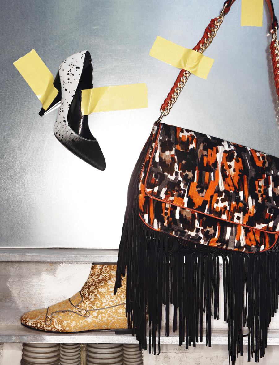 """IO Donna October 2014 """"Safari Urbano""""   Roberto Manzotti   IO donna   Eva Orbetegli   Numerique Retouch Photo Retouching Studio"""