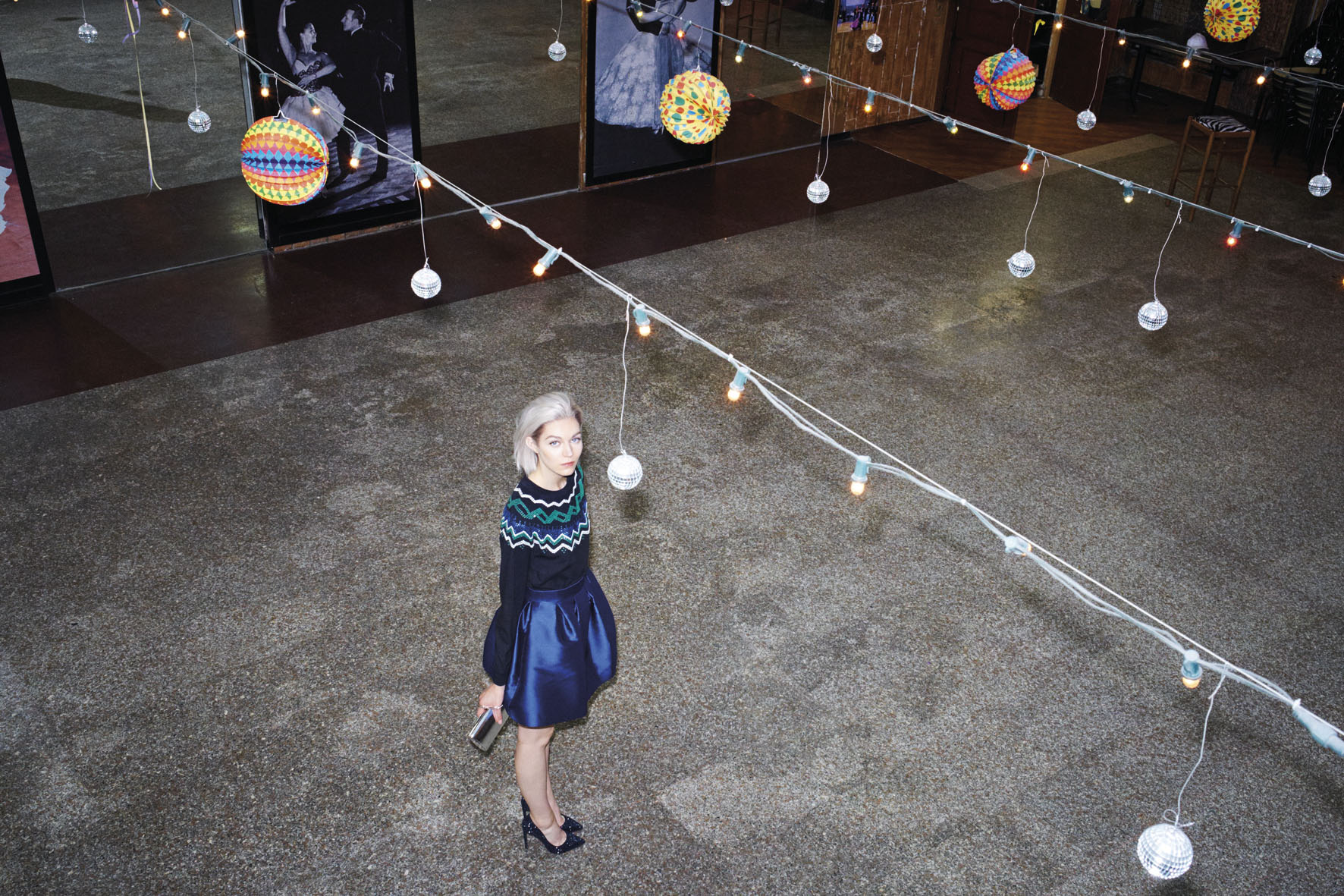 "Aishti Magazine Oct/Nov 2014 ""Ballroom blitz"" | Marco Pietracupa | Los Trapitos al Sol | Aishti magazine | Amelianna Loiacono | Numerique Retouch Photo Retouching Studio"