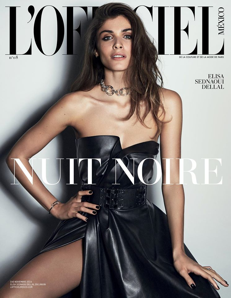 "L'Officiel Mexico November 2014 ""Elisa Sednaoui Dellal"" 