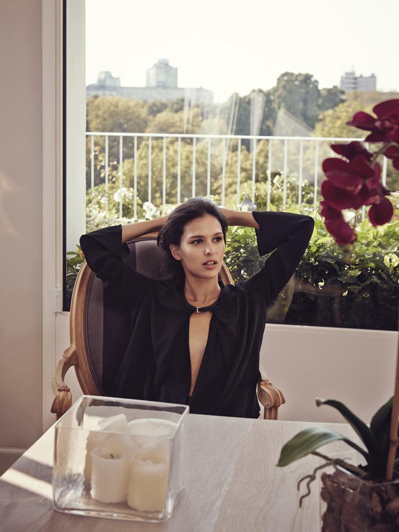 "GIOIA! October 2014 ""Nathalie Dompé"" | Lady Tarin | Gioia | Maria Giulia Riva | Numerique Retouch Photo Retouching Studio"