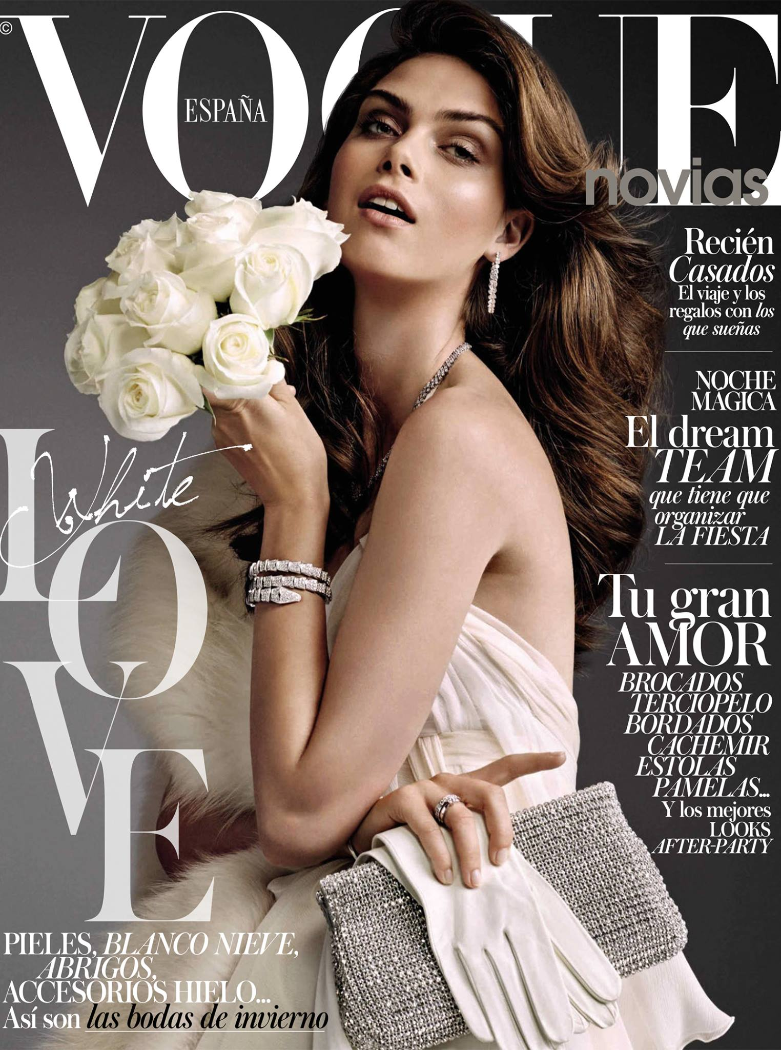 Vogue España Novias October 2014 | Andoni & Arantxa | Monster Management | Vogue España Novias | Sara Fernández Castro | Numerique Retouch Photo Retouching Studio