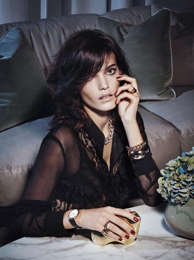 "GIOIA! January 2015 ""buonasera signora"" | Lady Tarin | Gioia | Maria Giulia Riva | Numerique Retouch Photo Retouching Studio"