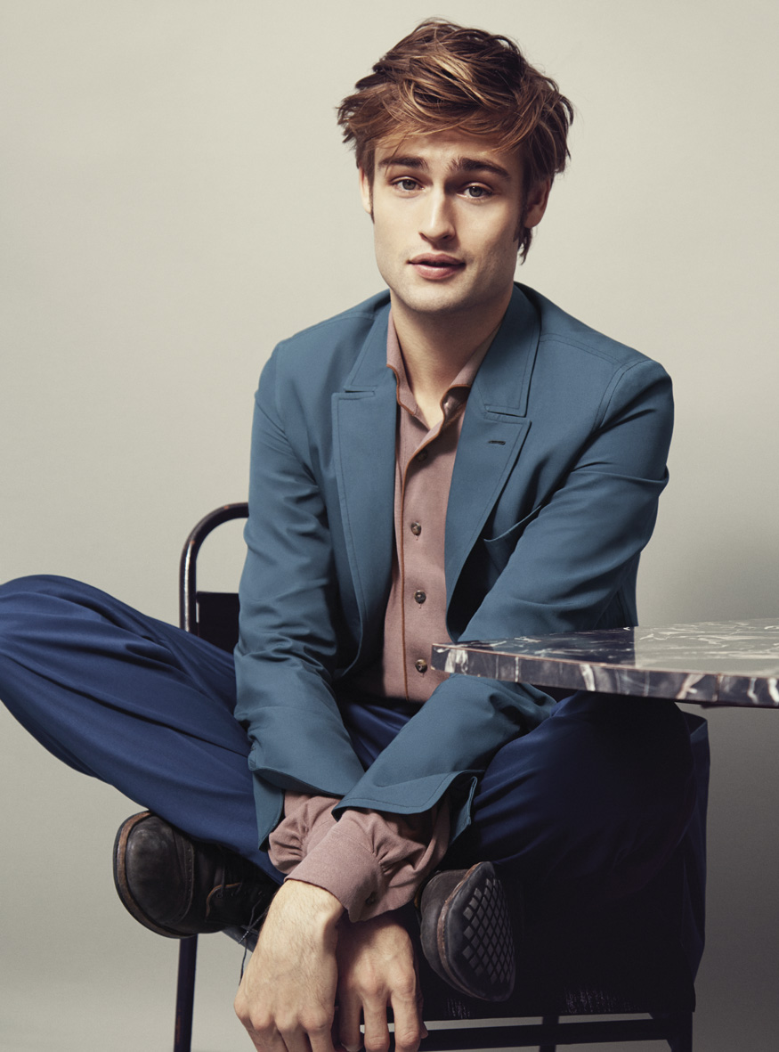 "InStyle February 2015 ""Douglas Booth"" 