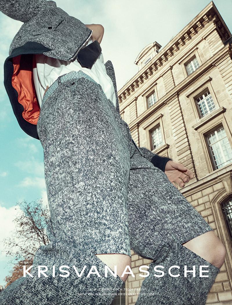 Kris Van Assche SS 2015 Campaign | Alessio Bolzoni | Kris Van Assche | Numerique Retouch Photo Retouching Studio