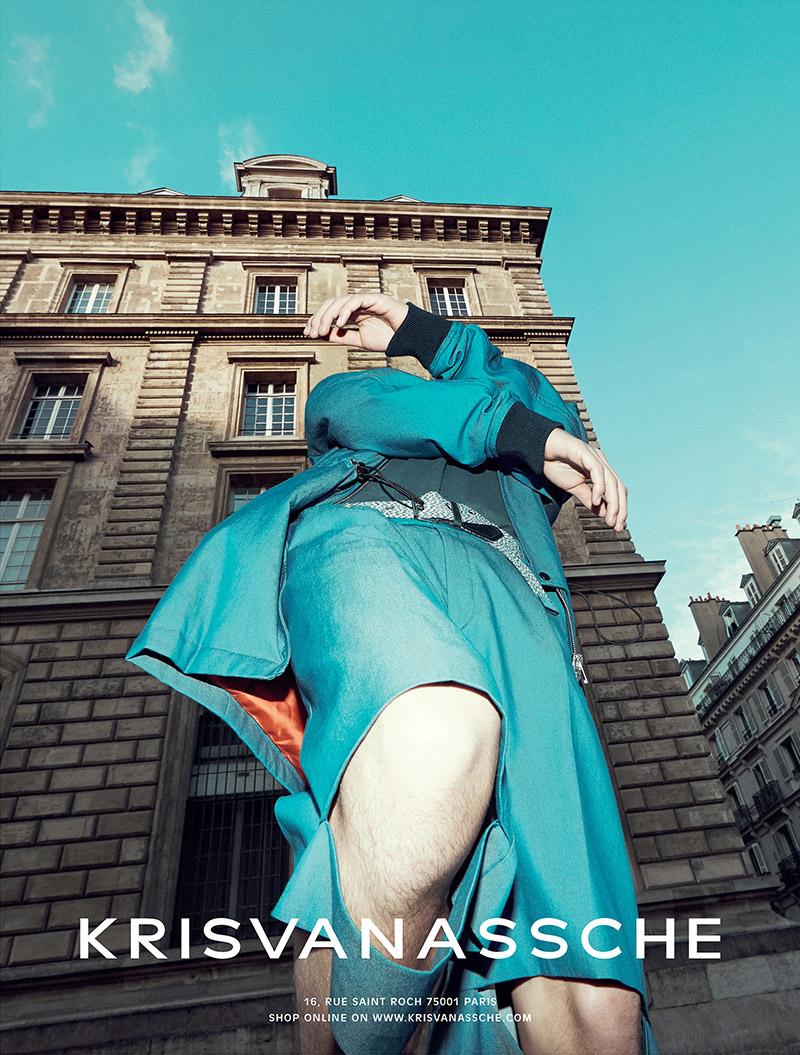 Kris Van Assche SS 2015 Campaign | Alessio Bolzoni | Kris Van Assche | IO donna | Lorenzo Posocco | Numerique Retouch Photo Retouching Studio