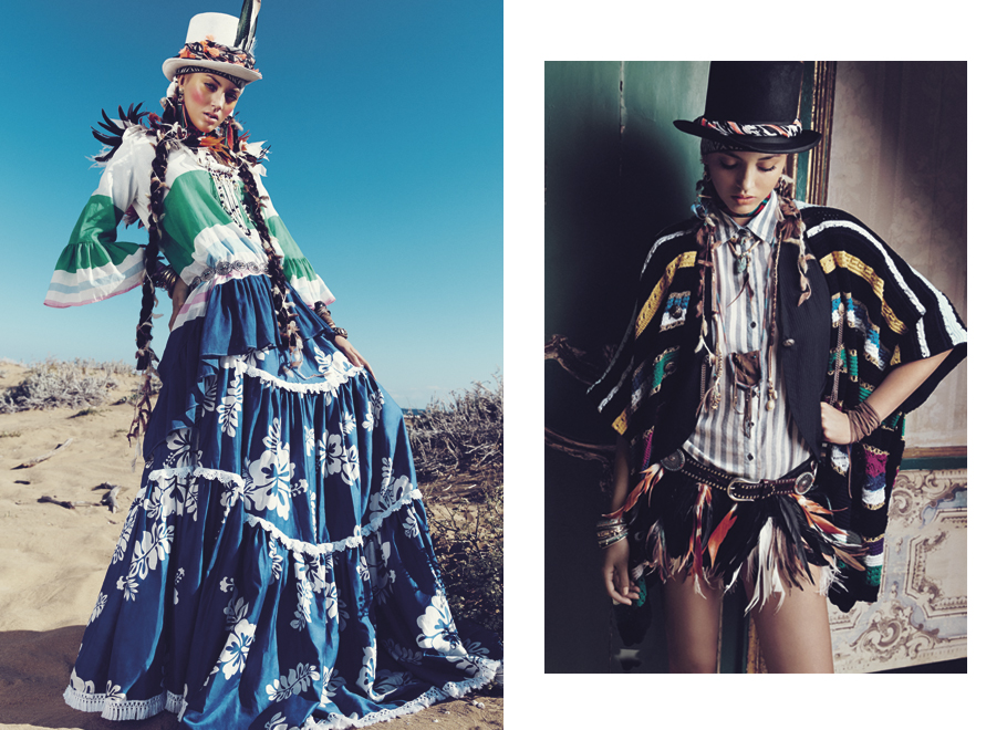 "Glamour Italia March 2015 ""Gaucho Mania"" | Andoni & Arantxa | Glamour Italia | Edoardo Marchiori | Numerique Retouch Photo Retouching Studio"