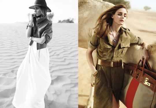 "Emirates Woman March 2015 ""Olivia Palermo""   Andoni & Arantxa   Emirates Woman   Numerique Retouch Photo Retouching Studio"