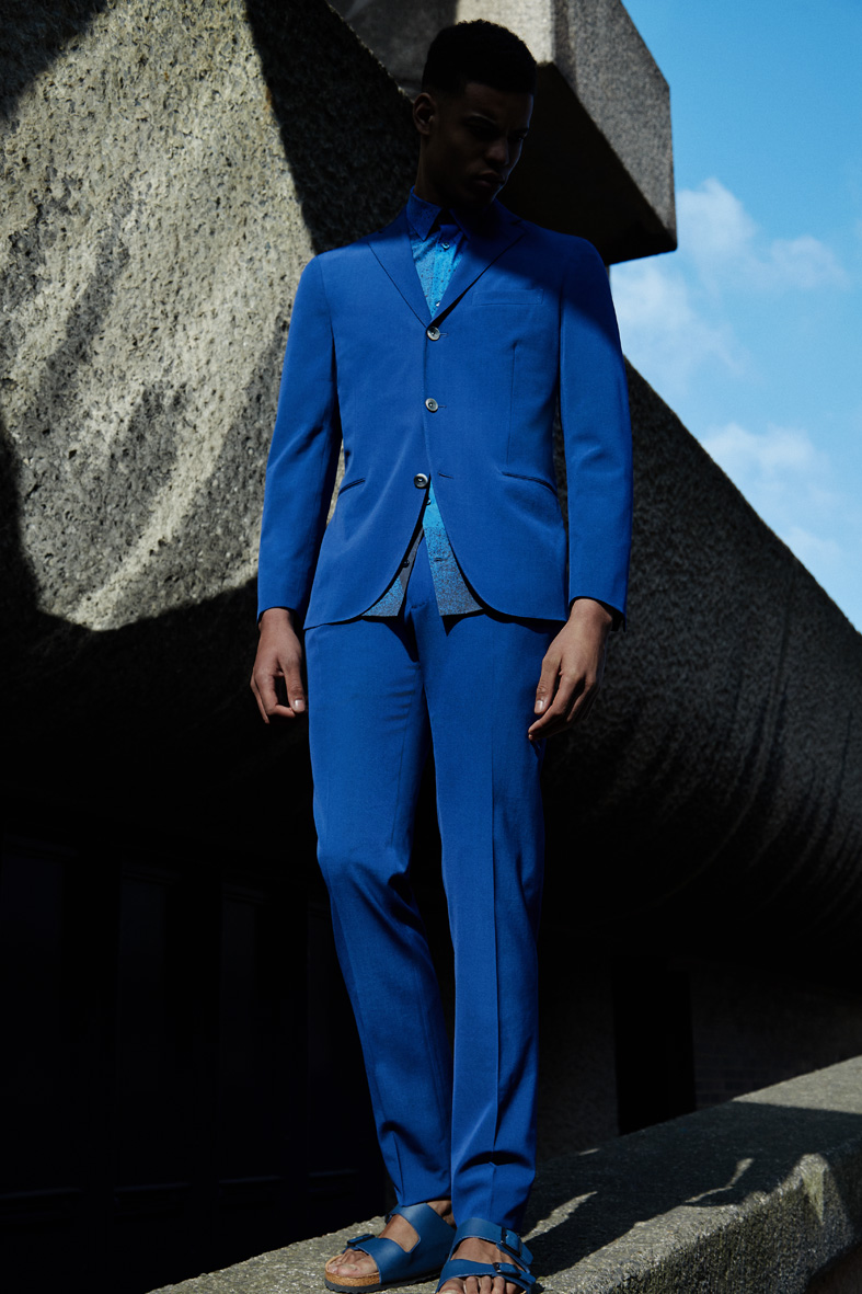 "MR Porter Issue 211 ""It's an Azure Thing"" 