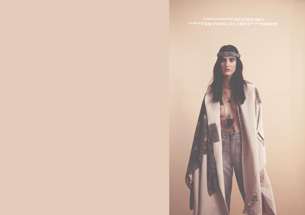 "RedMilk April 2015 ""Native."" | Alan Chies | RedMilk | Elisabetta Dal Bello | Numerique Retouch Photo Retouching Studio"