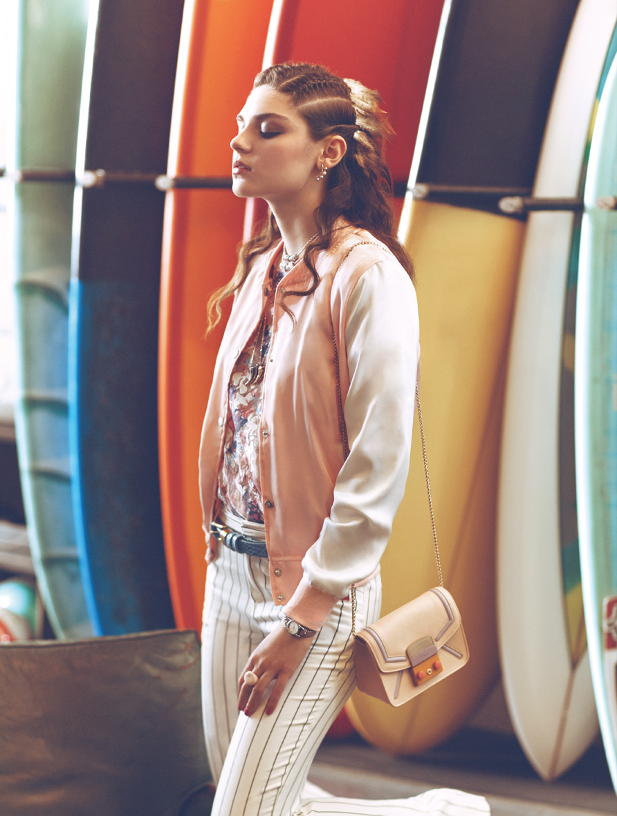 "Cosmopolitan May 2015 ""Bohemian Rhapsody"" | Francesco Bertola | Marazzi | Cosmopolitan Italy | Ylenia Puglia | Numerique Retouch Photo Retouching Studio"