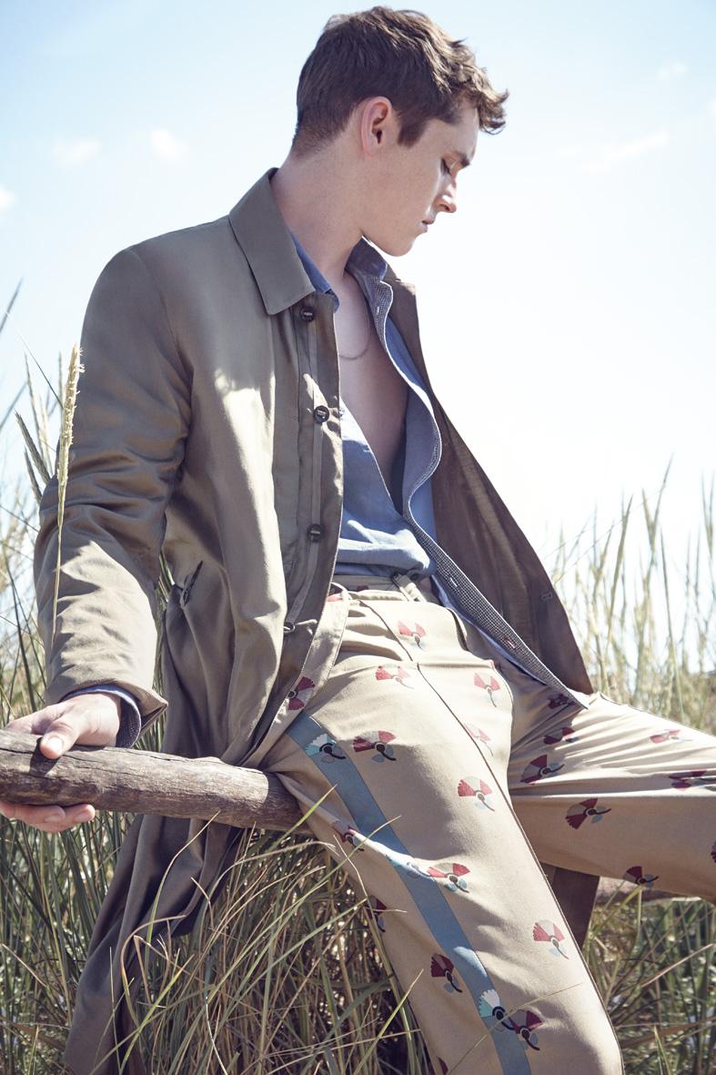 "L'Express Summer 2015 ""Beach Boys""   Carlotta Manaigo   L'Express Styles   Nicholas Galletti   Numerique Retouch Photo Retouching Studio"